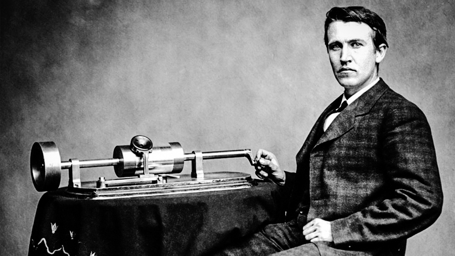 August 12: Thomas Alva Edison Introduces Novel Invention Called Phonograph - Firsts 24