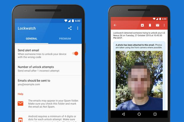 This is how the Lookwatch app works on your Android device.  How should you configure it?  (Photo: Google Play)
