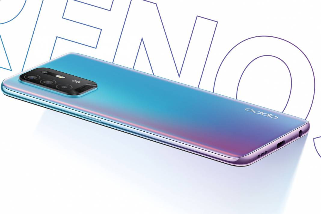 OPPO Reno 5 Z: AMOLED panel, quad camera and fast charging in a new mid-range 5G mobile