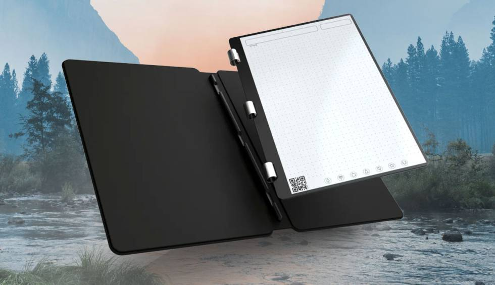 Rocketbook Axis, the paper notebook that connects to the cloud and never runs out