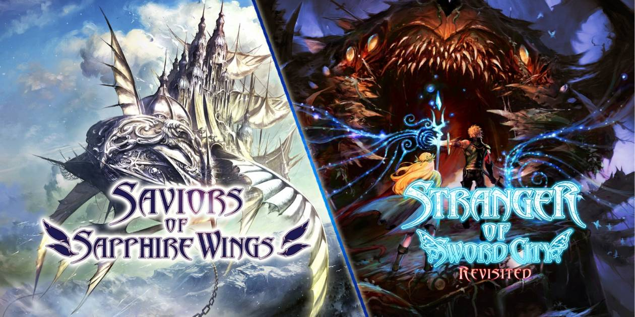 Saviors of Sapphire Wings / Stranger of Sword City: two classics on Switch