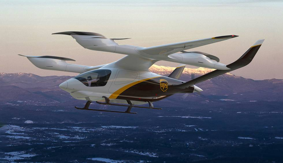 UPS discovers its plan to improve its deliveries through 'flying vans'