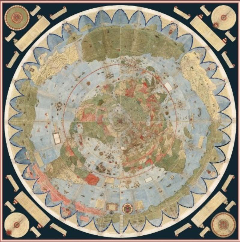 world map of urban monte