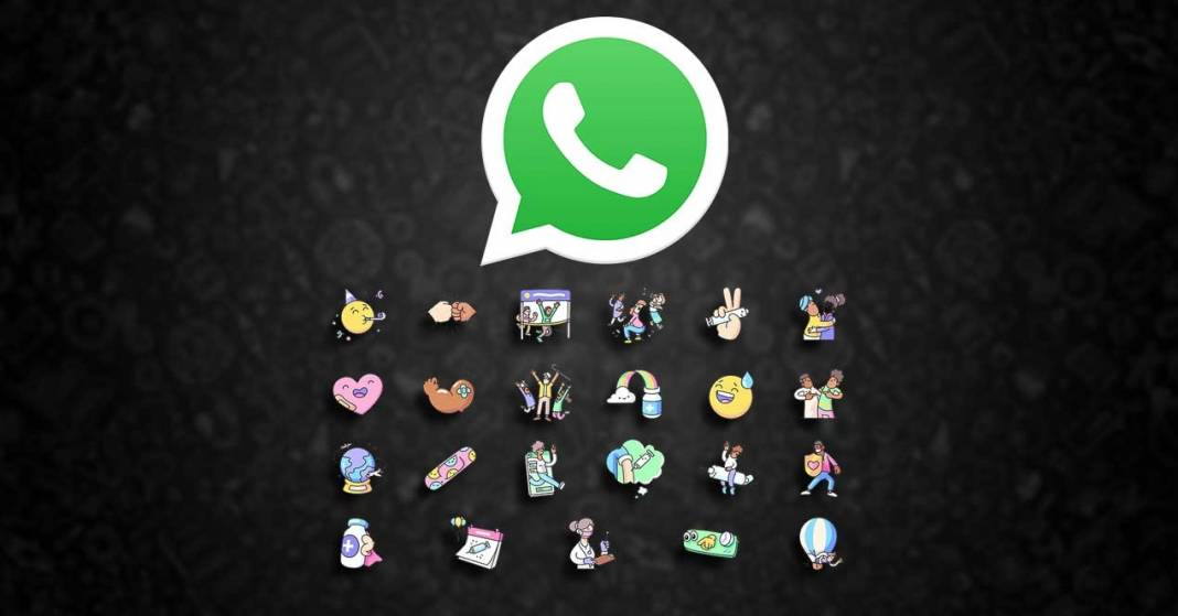 download the official whatsapp stickers with these links