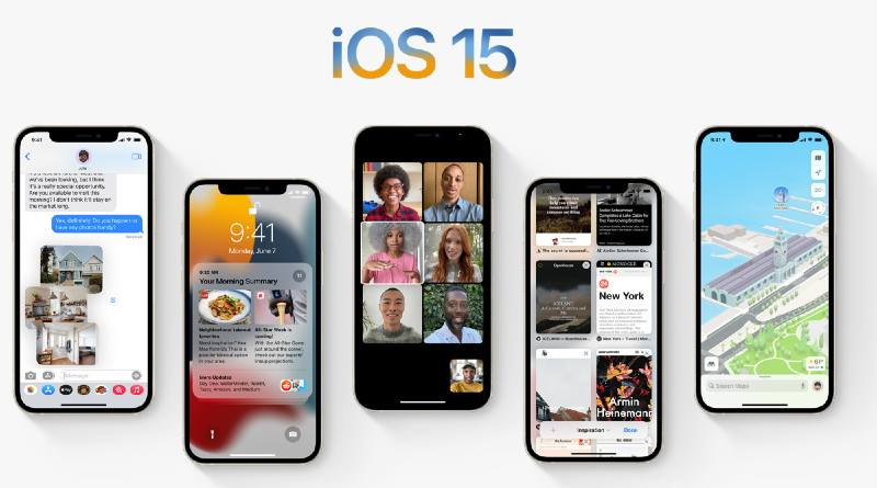 This is iOS 15