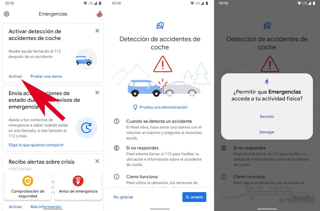 Car accident detection