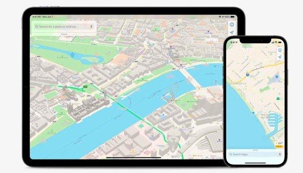 Apple Maps iOS15