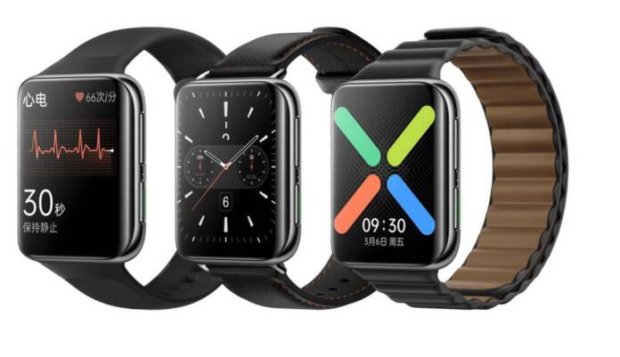 OPPO Watch 2 ECG Edition, a smartwatch with electrocardiogram to compete with the Apple Watch