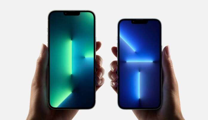 New iPhone 13 Pro Max and iPhone 13 Pro.