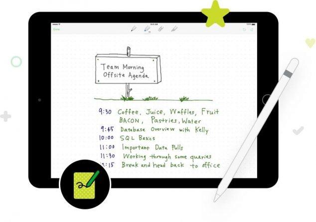 Penultimate, iOS, handwriting app