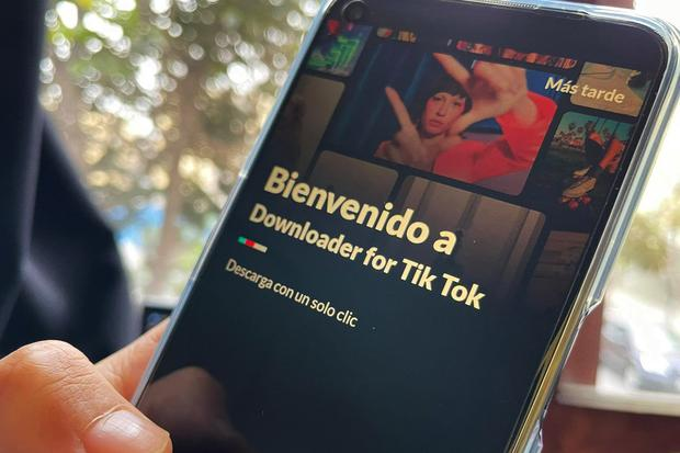 This is one of the applications where you can download TikTok without a watermark and totally free.  (Photo: MAG)