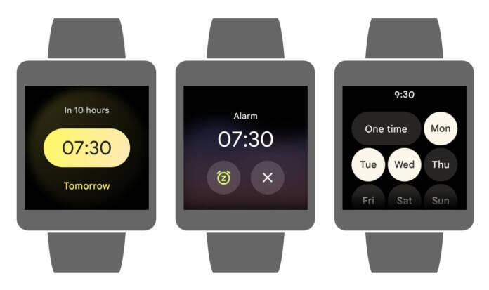 Google Wear OS watch